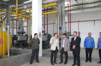 城阳批发市场5万吨冷库1号库安全成功加注液氨