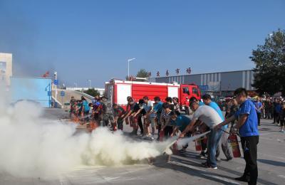 青岛市城阳蔬菜水产品批发市场举行消防安全培训暨应急疏散、灭火演练活动