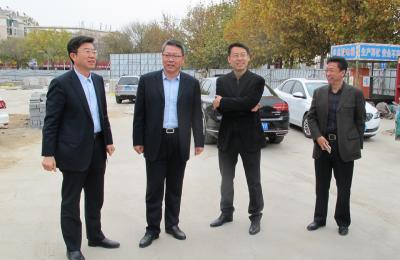 城阳区政府副区长李玉海莅临青岛泰豪国际广场视察指导工作