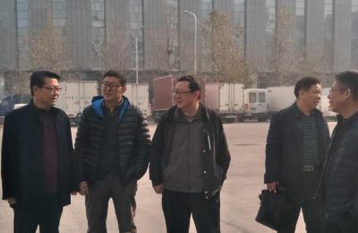 青岛市安监局组织专家莅临批发市场5万吨冷库督查指导安全生产工作