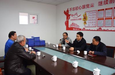 城阳区政府副区长毕建国莅临批发市场5万吨冷库视察指导安全生产工作