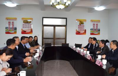 青岛市统计局党组书记、局长刘岐涛莅临城阳批发市场调研指导工作