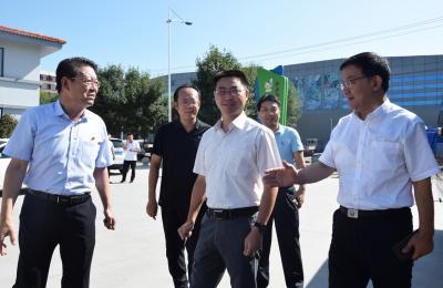中央宣传部宣教局副局长韩流莅临社区调研新时代文明实践试点工作