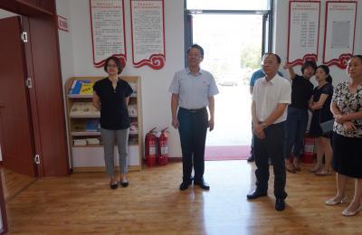 广州市委宣传部领导莅临社区调研新时代文明实践中心建设工作