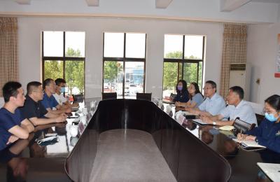 全国城市农贸中心联合会会员部部长谭婷婷带队参观考察城阳批发市场